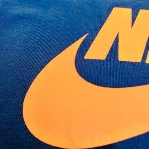 Nike Tops - Nike Neon light weight Blue/Pink Sweatshirt
